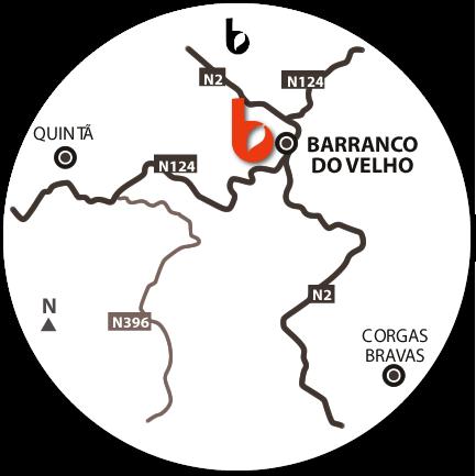 Mapa do Hotspot Fonte Férrea