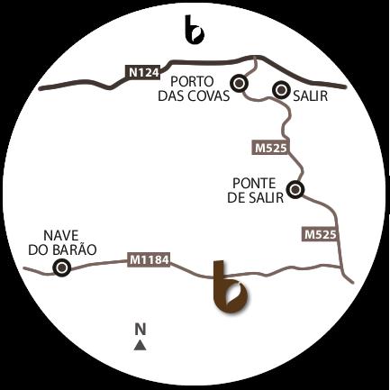 Mapa do Hotspot Nave do Barão