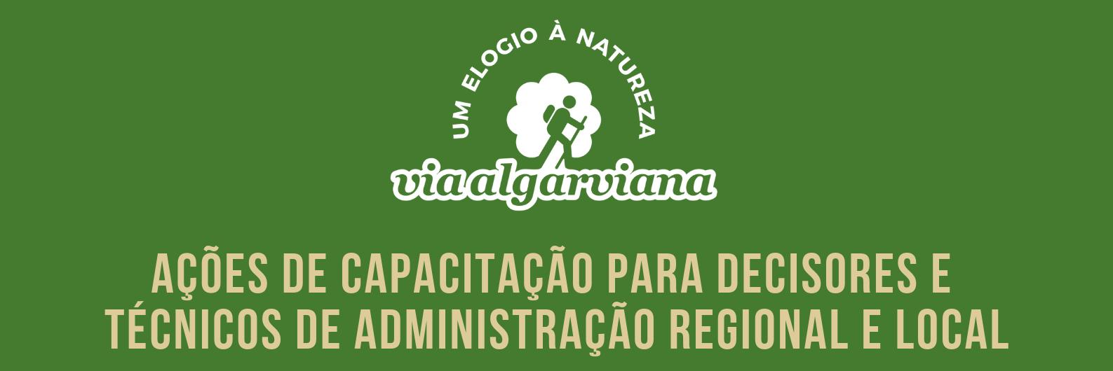 Ações de capacitação para decisores e técnicos de administração regional e local