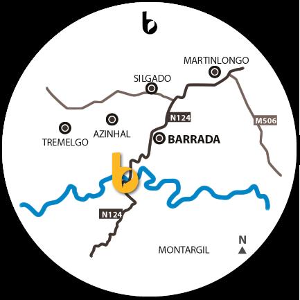 Mapa do Hotspot Ribeira da Foupana